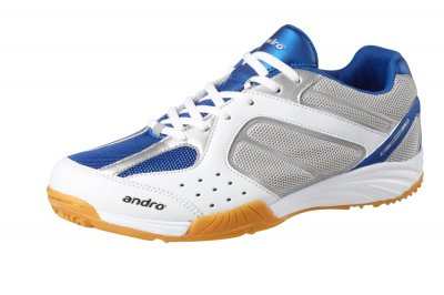 andro shoe alphastep II white/blue