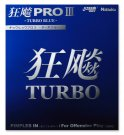 Nittaku Hurricane 3 Pro Turbo Blue Sponge