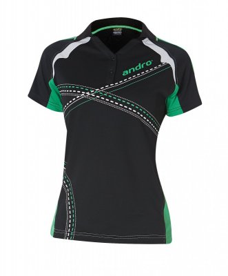 andro-Shirt Arakis Women - black/green