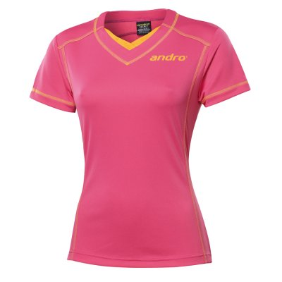 andro KOSEI women v-Neck pink / orange