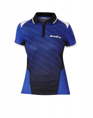 andro® Shirt Milos Women blue/black