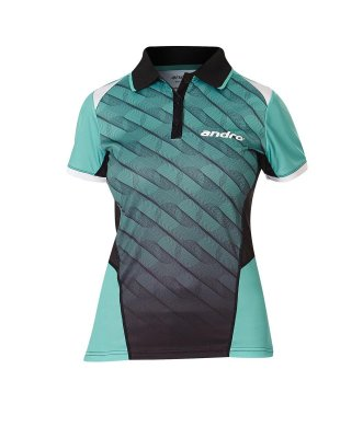 andro® Shirt Milos Women green/black