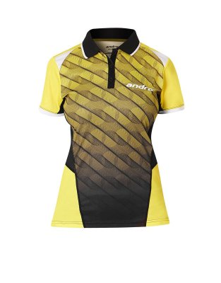 andro® Shirt Milos Women yellow/black