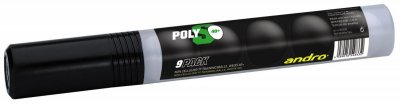 andro® training ball * PolyS 40+ cellfree 9-pack
