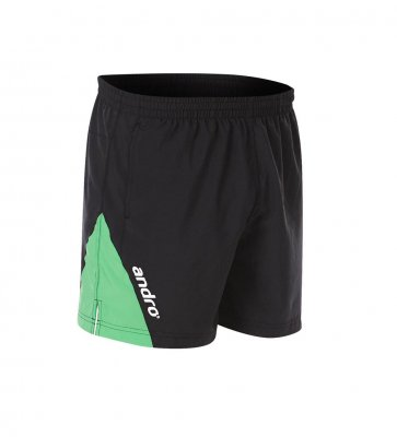 andro® Short Siran black/green