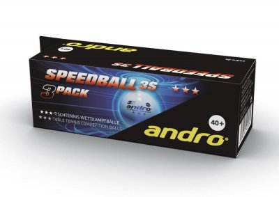 andro® *** Speedball 3S 40+ cellfree 3-pack